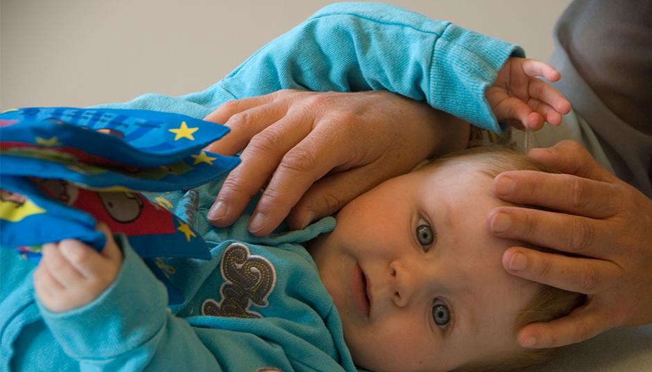 Naar de osteopaat met een baby